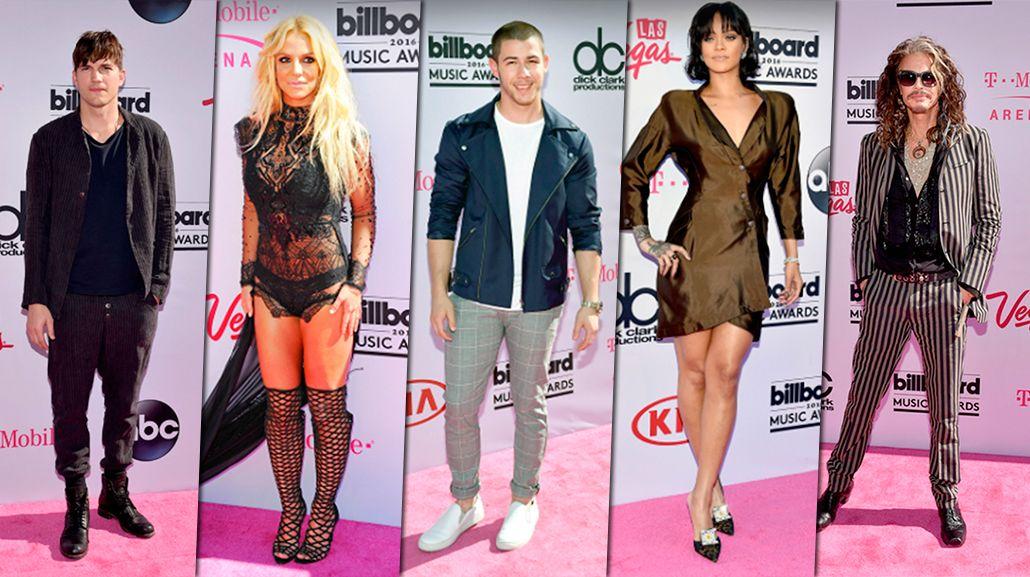 Los looks de la alfombra roja de los Billboard Music Awards 2016