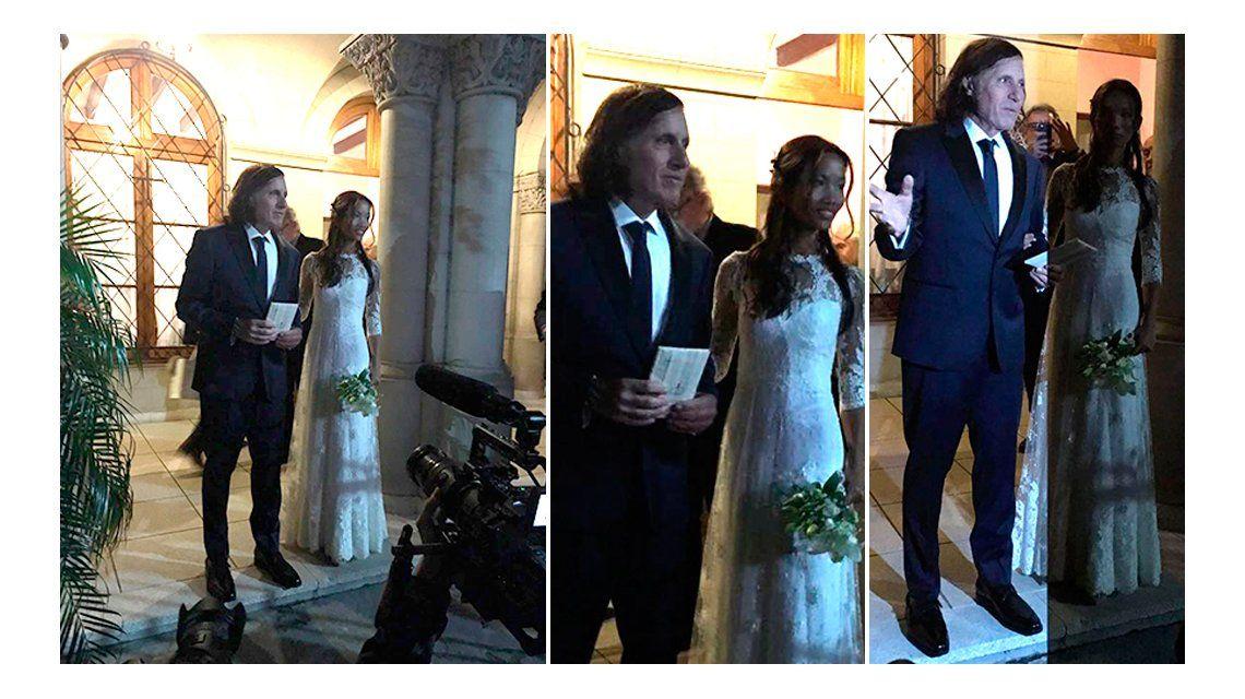 Guillermo Vilas se casó con su mujer tailandesa de 32 años: las fotos de la ceremonia