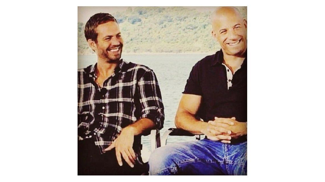 Paul Walker y Vin Diesel