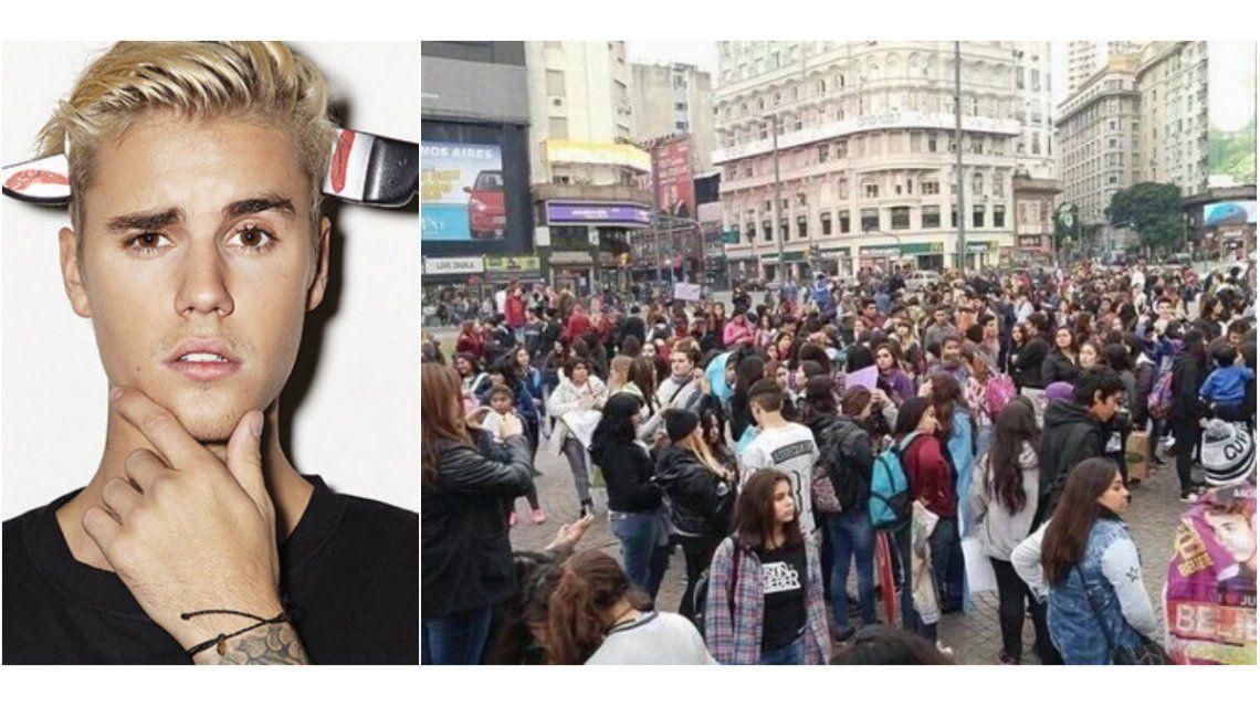 #MarchaBelieber: fans pidieron a Justicia argentina que Justin Bieber pueda regresar al país
