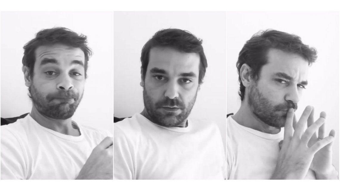 Así practica Pedro Alfonso para su almuerzo con Mirtha Legrand: show de caras y beso de Paula Chaves