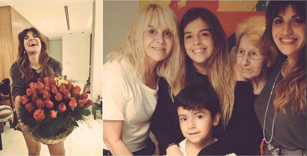 Diego le envió 27 rosas a Gianinna Maradona por su cumpleaños: Algunas con espinas, como nuestra vida