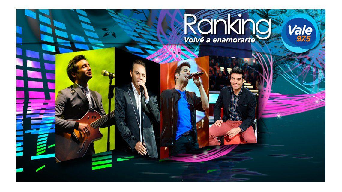 El ranking Vale 97.5 de la semana