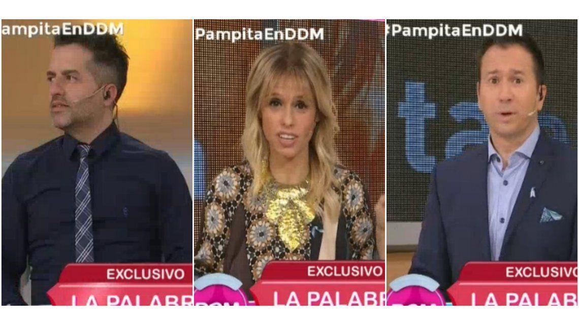Mariana Fabbiani puso un freno en vivo por la pelea de De Brito y Bremer: Es de público conocimiento que hay conflictos
