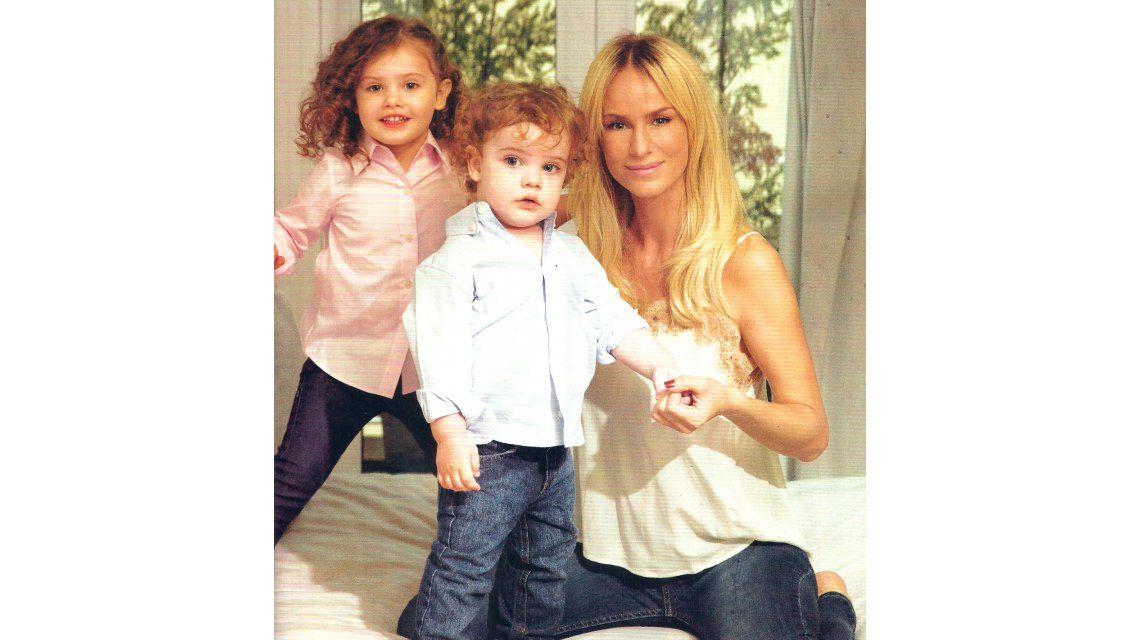 Sabrina Rojas posó con sus hijos: planes de casamiento ¿y se viene el tercero con Luciano Castro?