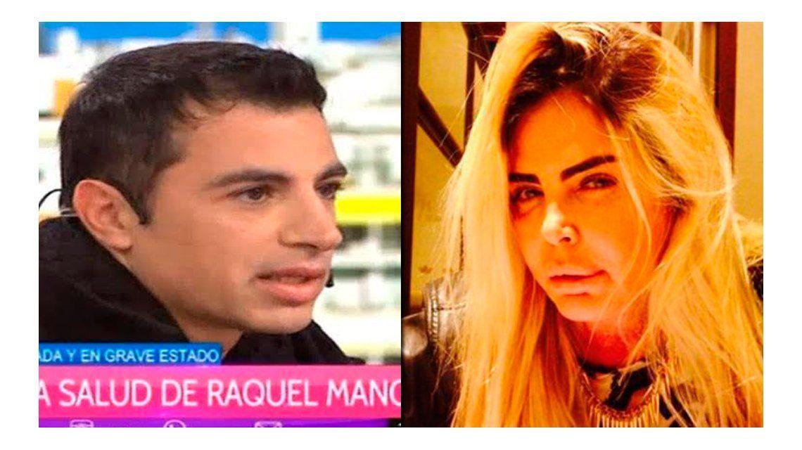 El fuerte cruce al aire entre el hermano de Raquel Mancini y un amigo de la ex modelo