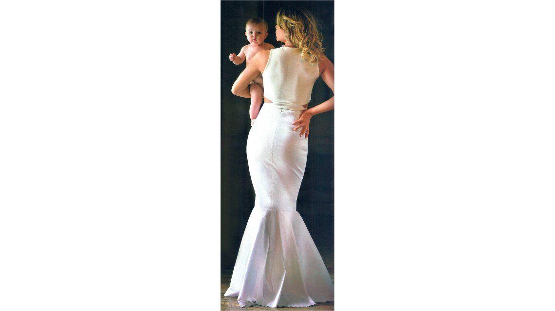 Dallys Ferreira, diosa a cinco meses de ser mamá
