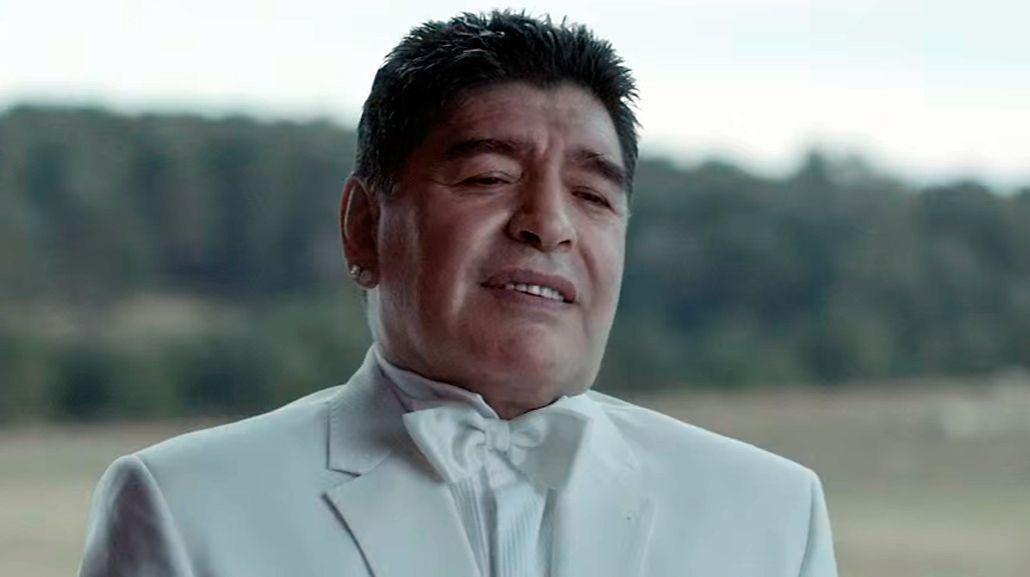 Maradona interpretó a Dios y volvió a hacer un gol en México 30 años después