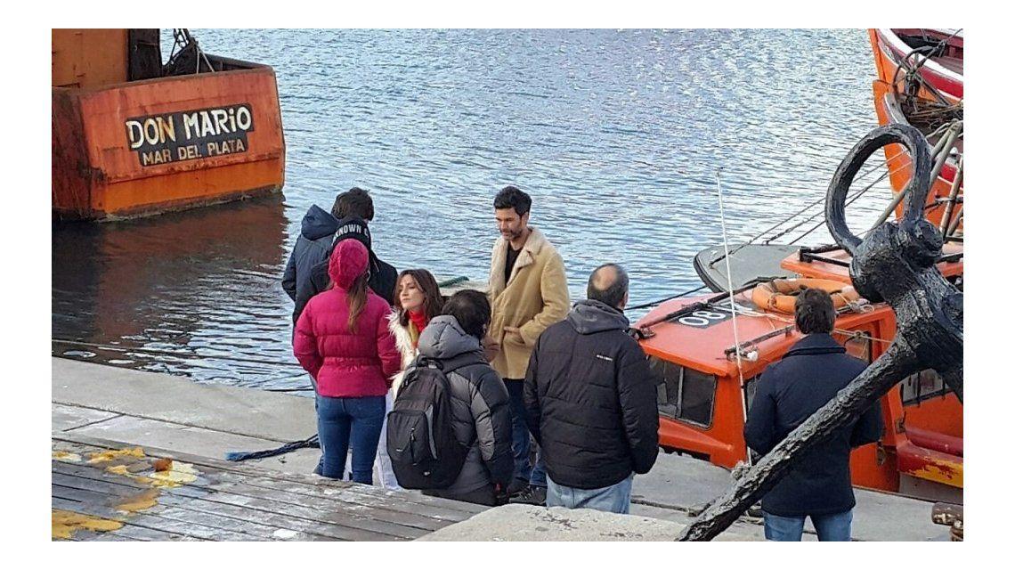 El backstage de la grabación de Amar después de amar en Mar del Plata
