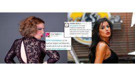Los escandalosos tuits de Pamela Sosa a Lizy Tagliani: Volvé a nacer, pu...