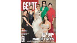Los looks de los premios Martín Fierro, en las tapas de las revistas