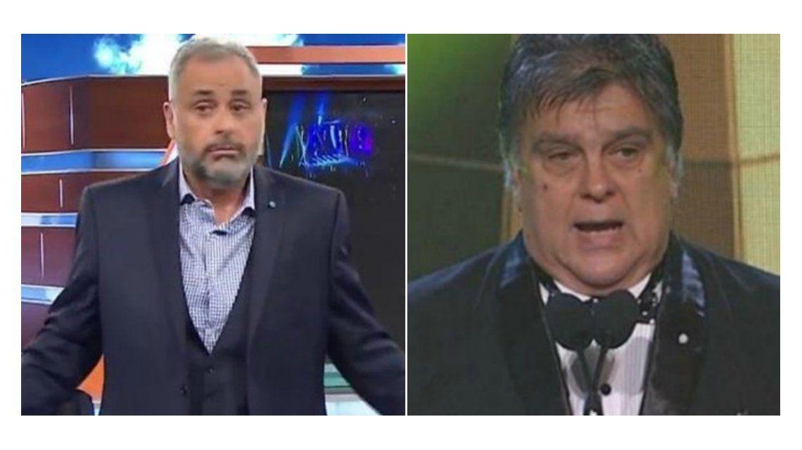 Jorge Rial le contestó a Luis Ventura, tras la polémica en los Martín Fierro: En el ambiente no hay amigos; lo voy a volver a hacer