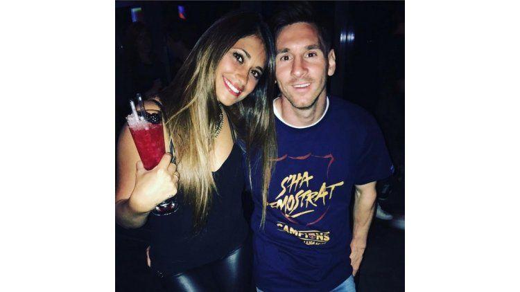 Messi y Antonella Roccuzzo se casan
