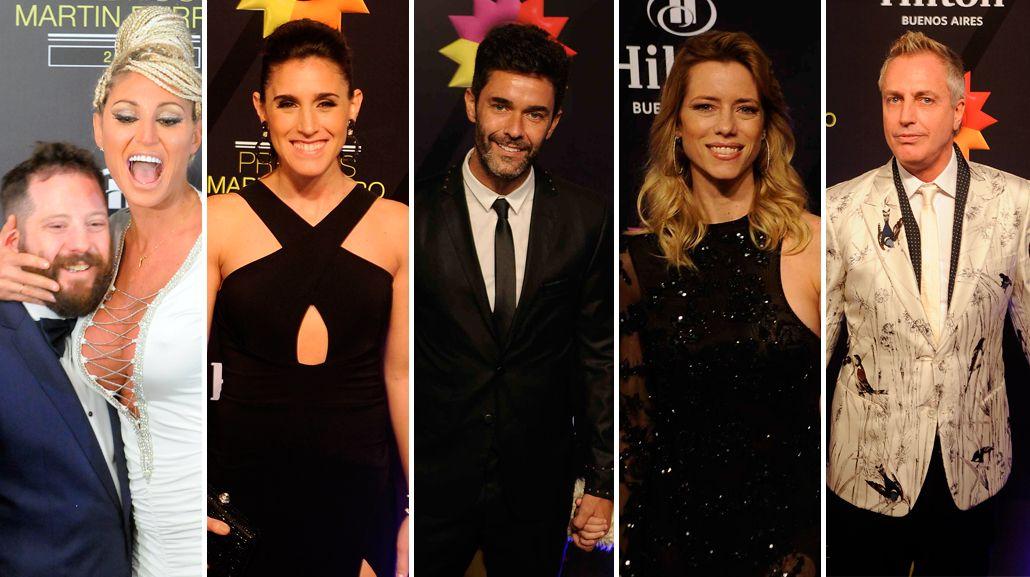 Glamour, moda y looks: la noche de los Martín Fierro, en imágenes