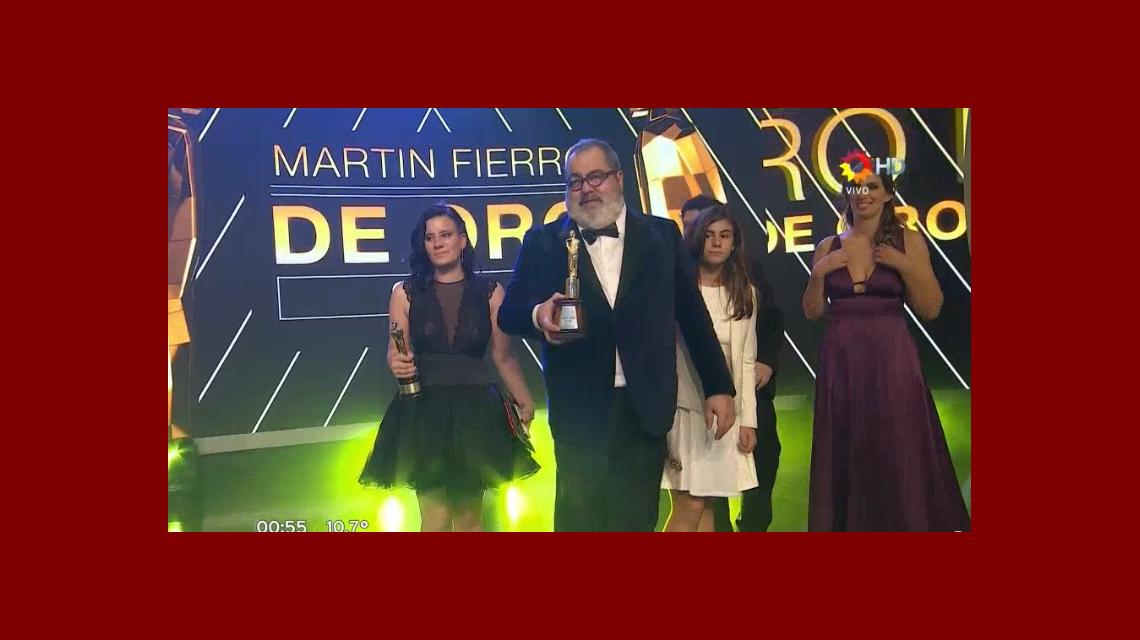 Jorge Lanata se quedó con el de Oro; mirá la lista completa de todos los ganadores