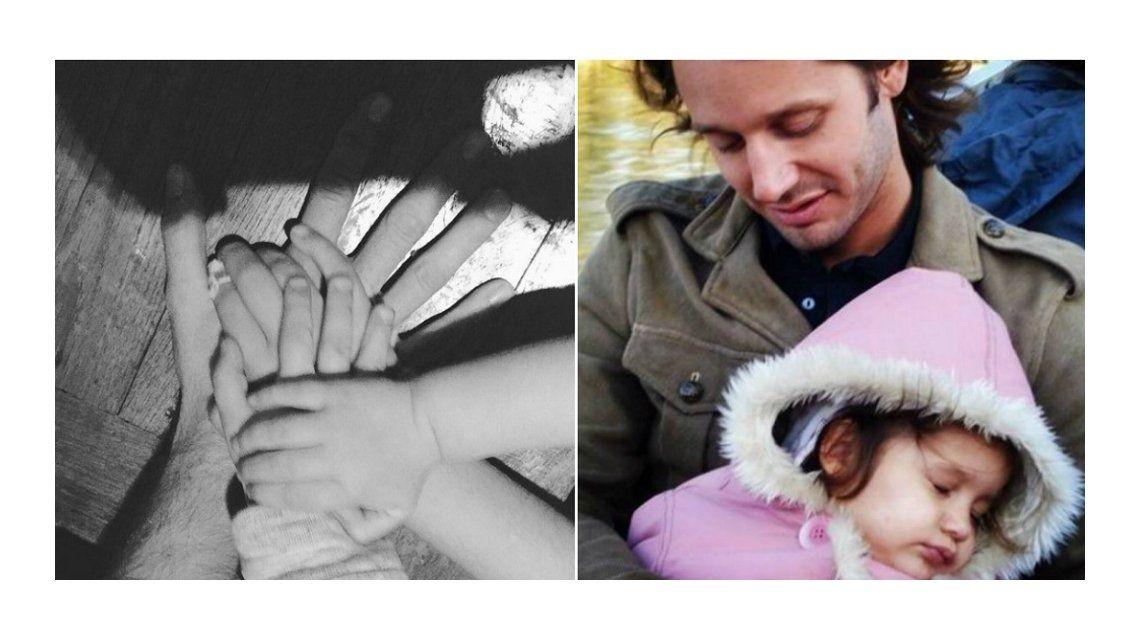 Conmovedor recuerdo de Benjamín Vicuña en el cumpleaños de Blanca: 10 años de la mano