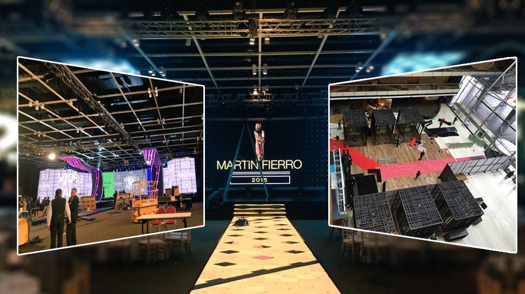 Espiá los preparativos para los Martín Fierro 2016 desde el Hilton