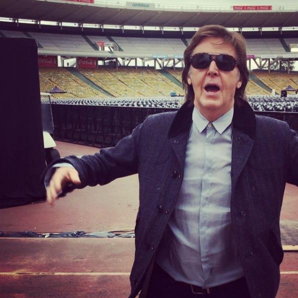 Paul McCartney ya está en Argentina y dejó un mensaje para sus fans