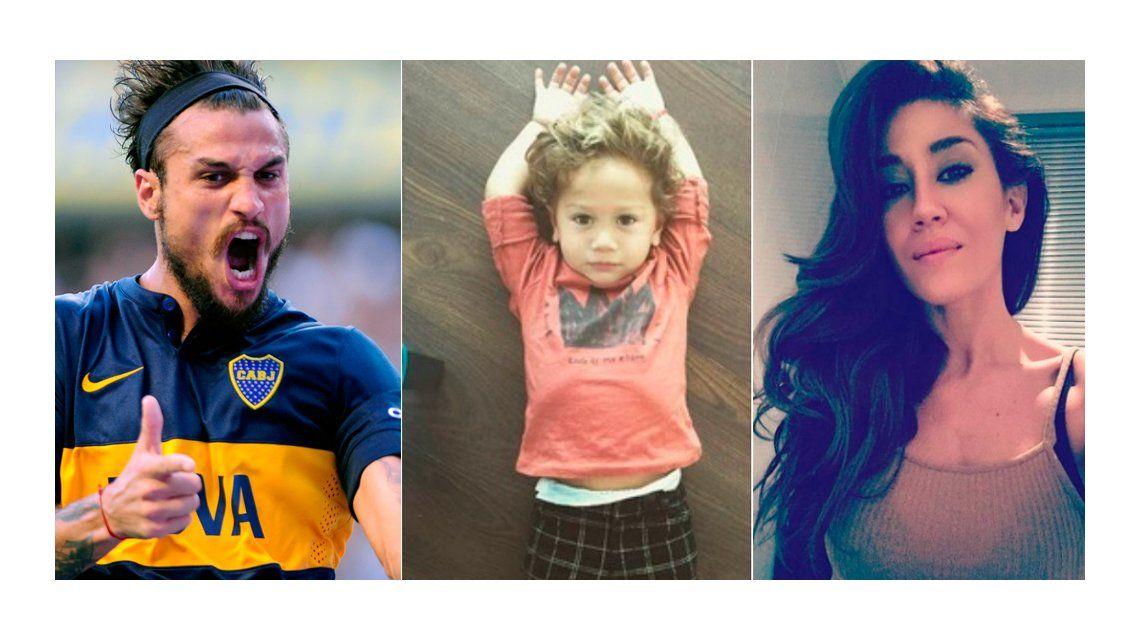 Boca echó a Daniel Osvaldo y busca club: ¿qué pasará con Jimena Barón y su hijo?