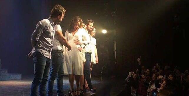 Emilia Attias confirmó su embarazo con una tierna foto: Bambalinas de amor