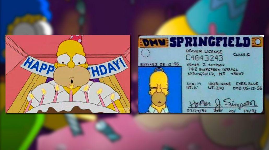 ¡Feliz cumpleaños, Homero! El famoso personaje celebró sus 60 años