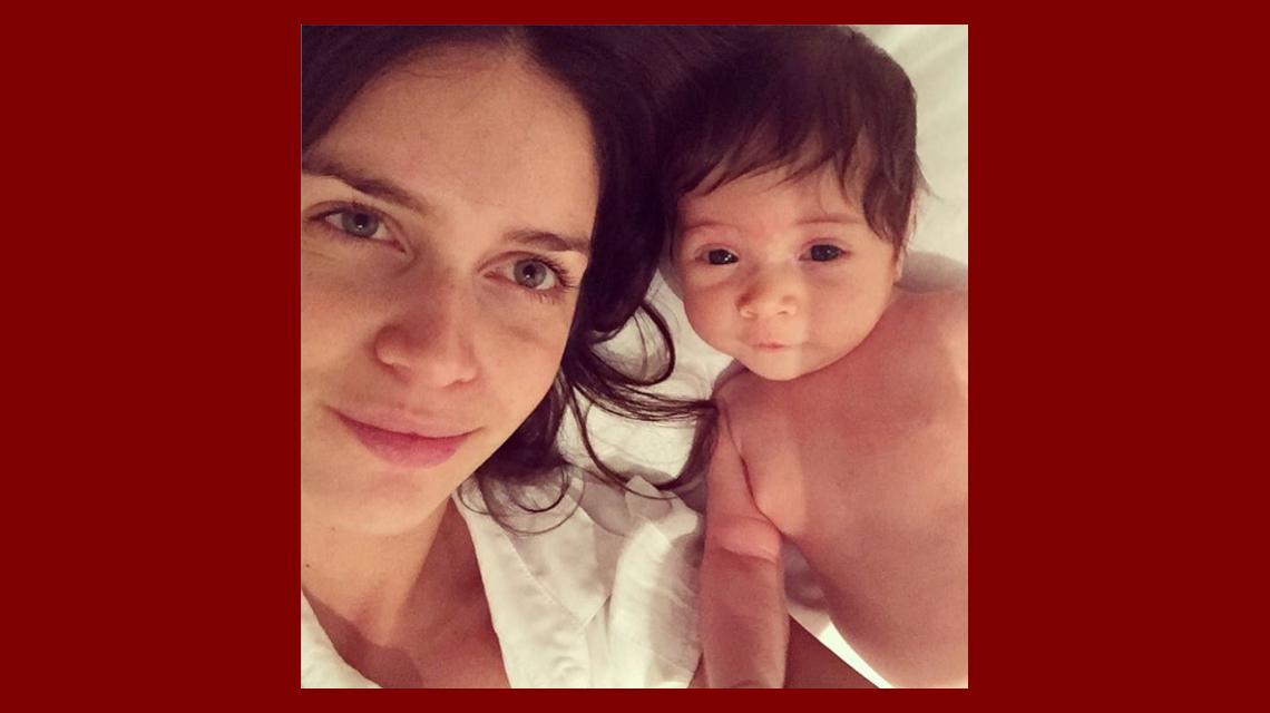Las tiernas fotos de Zaira Nara con su hija Malaika: Todo el día así juntitas