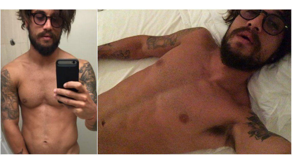 Se viralizan fotos de Daniel Osvaldo desnudo