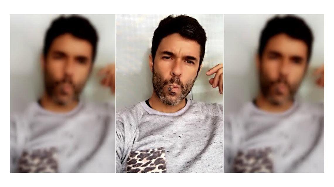 ¿Tabaco o marihuana? La polémica foto de Mariano Martínez que revolucionó las redes sociales