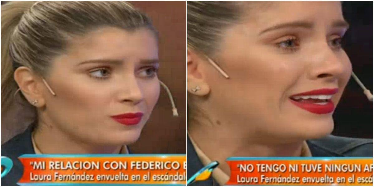 Laurita Fernández quebró en llanto por la versión de que Hoppe la habría encontrado con Fede Bal