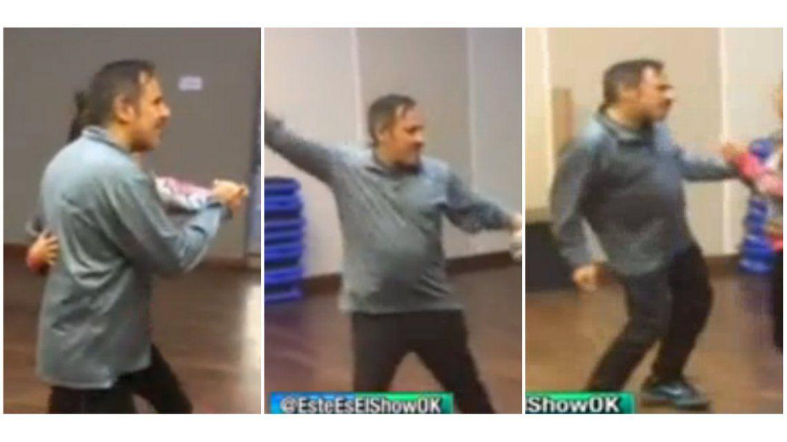 Alejandro Lerner, confirmado para el Bailando: ¡mirá el video de los ensayos!