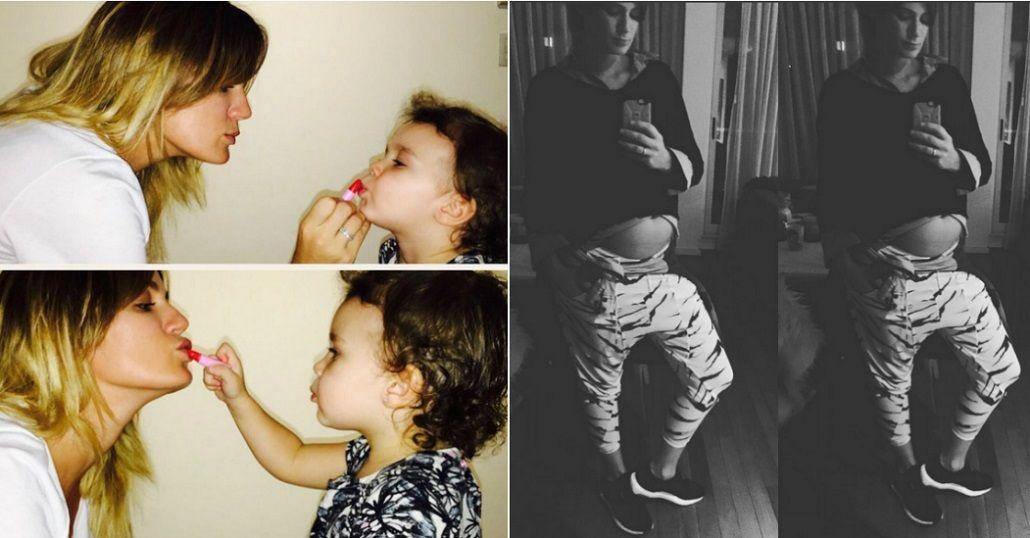 Emotiva carta de Paula Chaves a Olivia: La maternidad me cambió