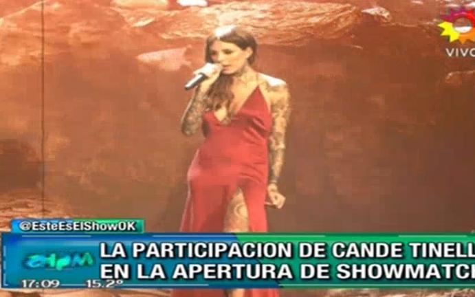 Candelaria Tinelli cantará en la apertura de Showmatch 2016: Será algo que tiene que ver conmigo