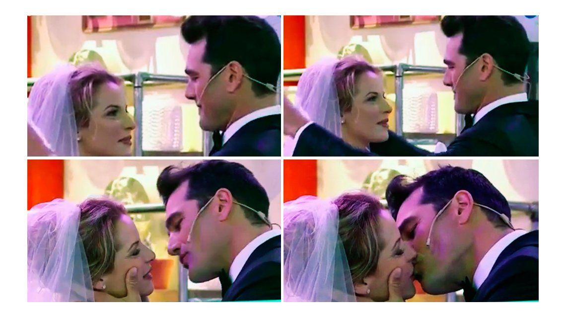 La insólita falsa boda de Carina Zampini y Hernán Drago en Morfi, todos a la mesa