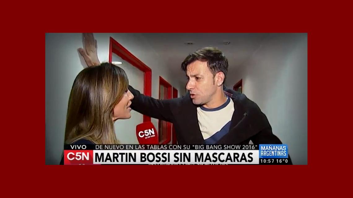 La confesión íntima de Martín Bossi: Yo fracasé mucho con las minas