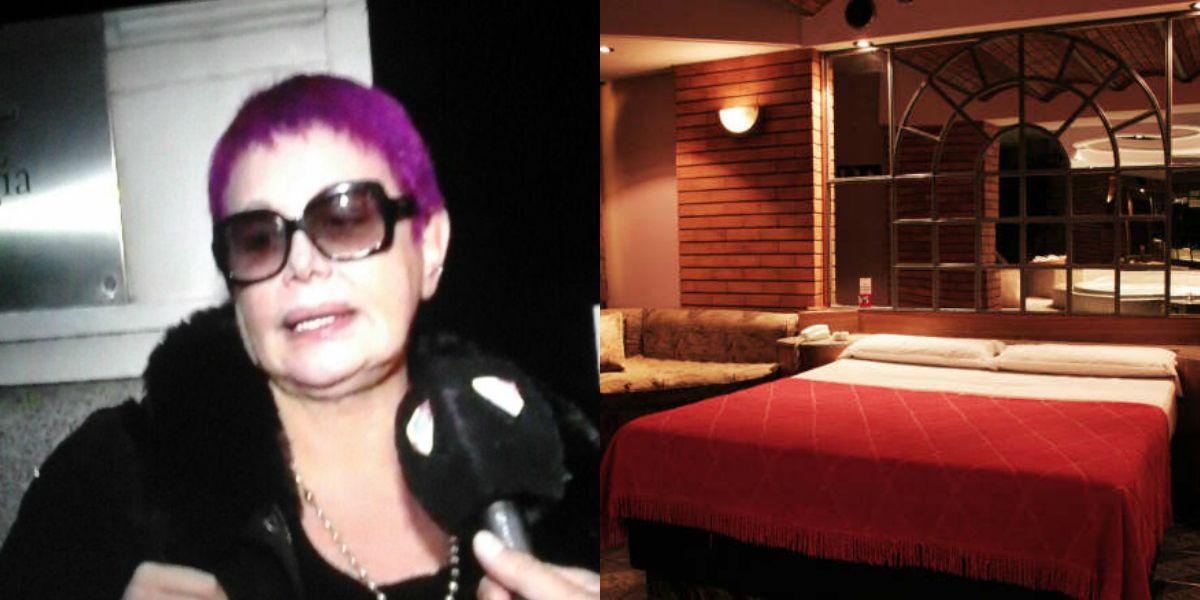 Carmen aparece con el pelo violeta; las fotos del hotel alojamiento de la infidelidad