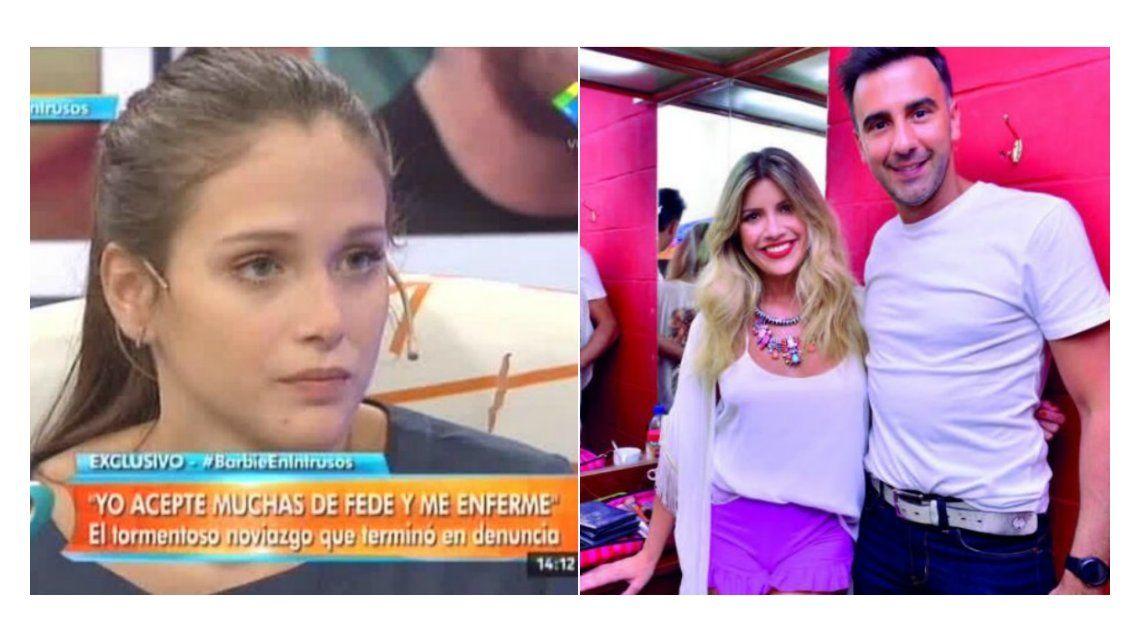 Barbie Vélez confirmó la infidelidad de Fede Bal con Laurita Fernández: Me pega porque yo quería llamar a Hoppe y contarle