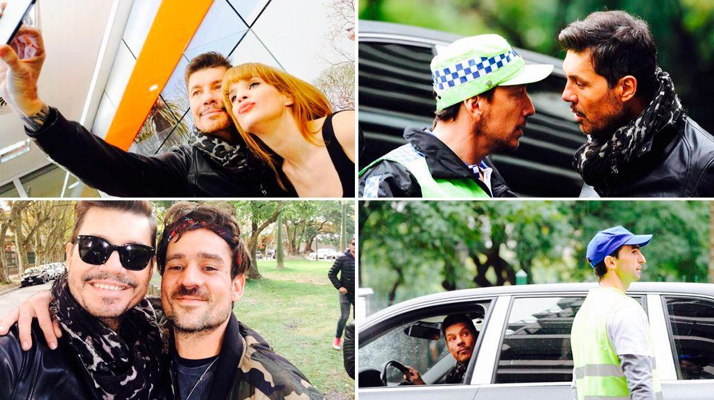 Marcelo Tinelli empezó a grabar la apertura de Showmatch: espiá el back con Leticia Brédice, Chano, Nico Vázquez y Barovero