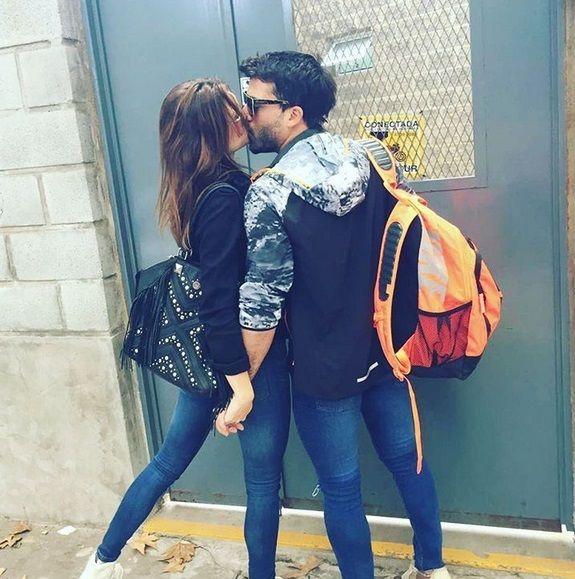 Juliana Giambroni blanqueó su relación con el ex de Érika Mitdank con una foto a los besos