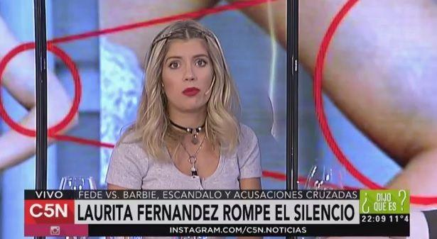 Laurita Fernández explicó el significado del mensaje pienso en él a Fede Bal