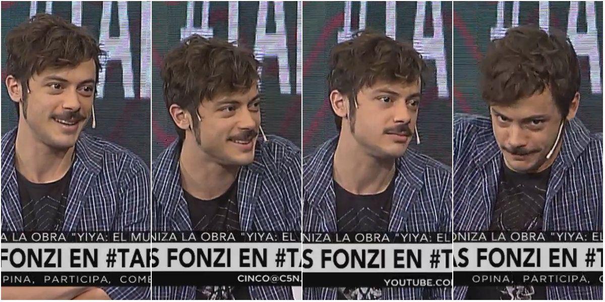Tomás Fonzi reveló cuál es su particular frase antes de salir a escena
