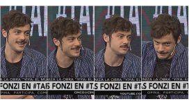 Tomás Fonzi reveló cuál es su particular frase antes de salir a escena: ¿Quién me...?