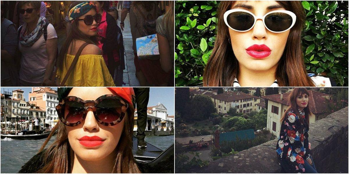 ¡Una bambina suelta en Italia! Mirá las aventuras de Lali Espósito en su viaje por Europa