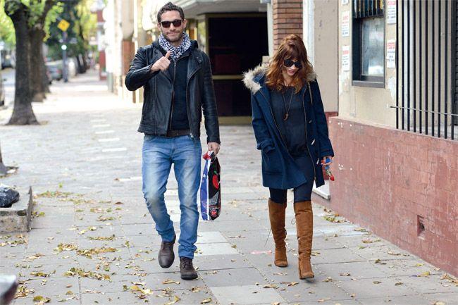 Celeste Cid y Michel Noher, juntos en un paseo por Palermo