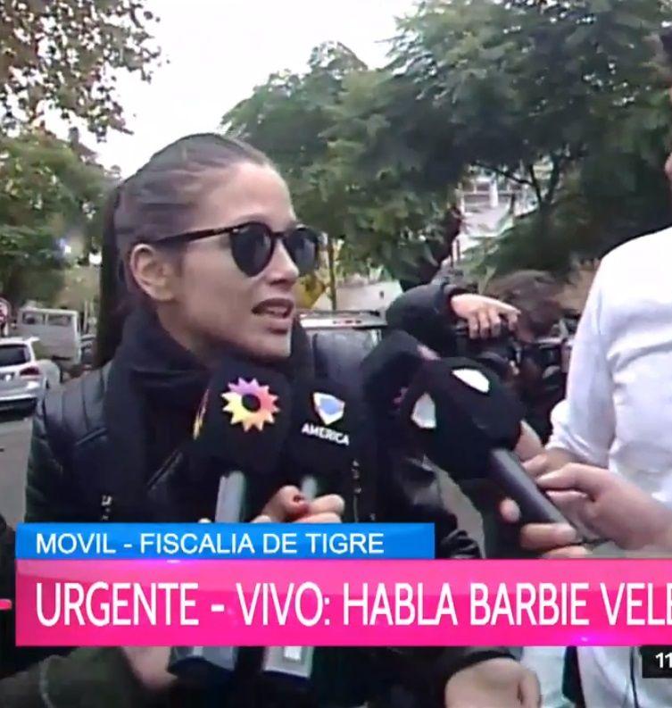 Barbie Vélez: Recurro a la justicia porque sino parece un chiste, no lo quiero ver más a Fede