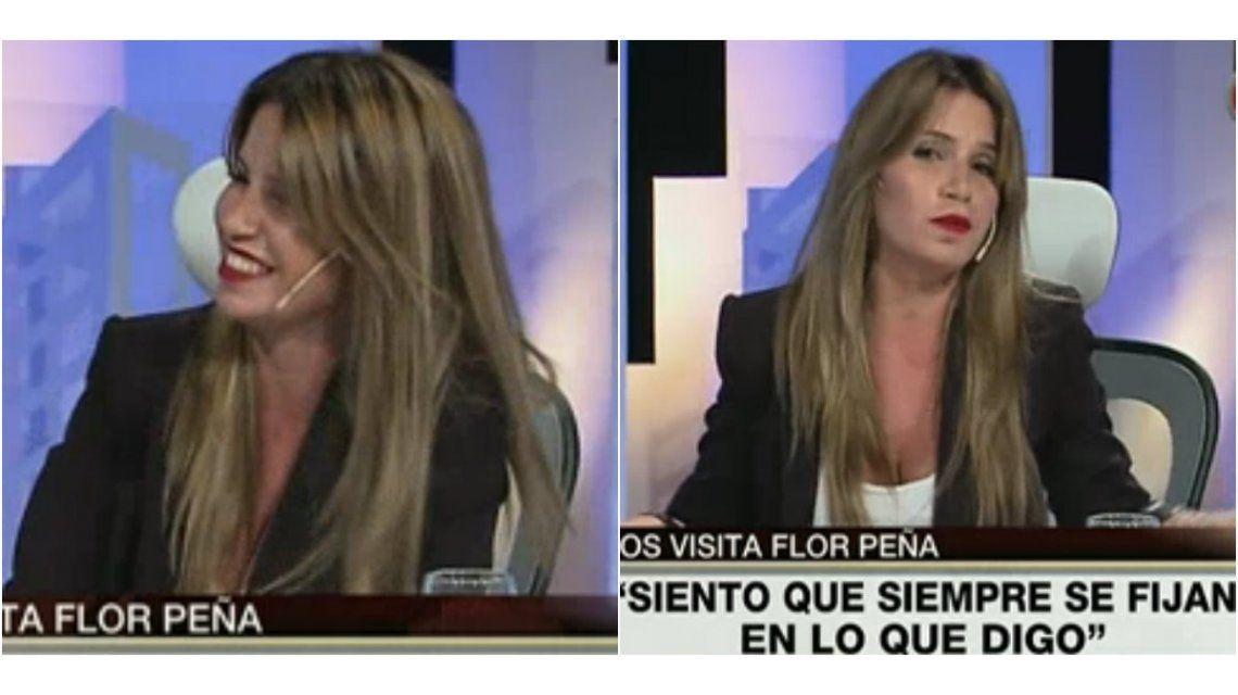 Flor Peña respondió a las críticas: La gente cog.. mal y le molesta que vos lo hagas bien