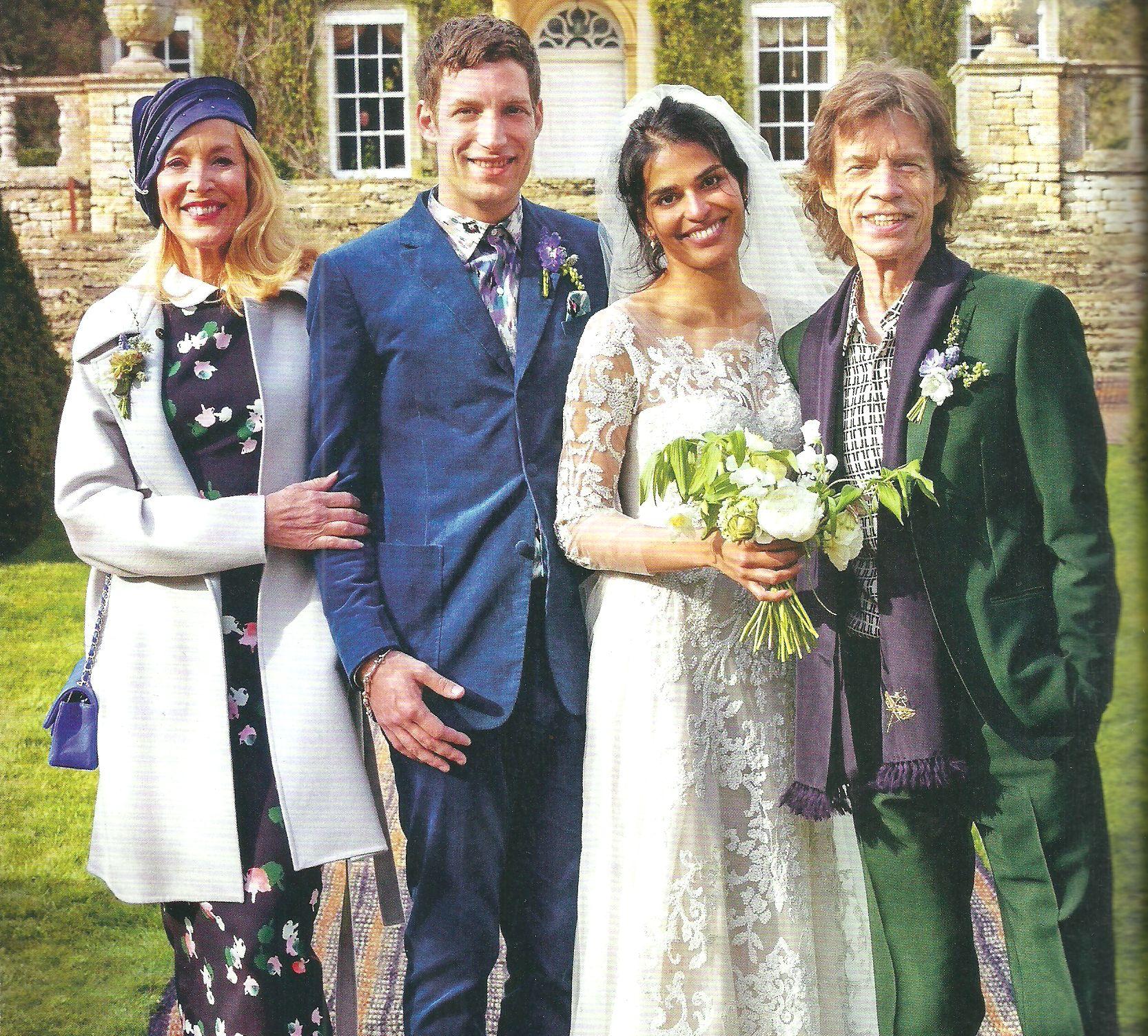 Las fotos de la boda stone del hijo de Mick Jagger