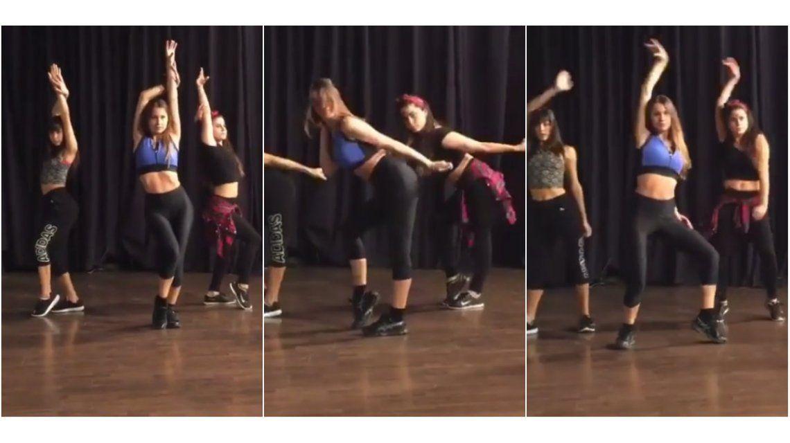 Video: la sensual coreografía de Pampita para la apertura de Showmatch 2016