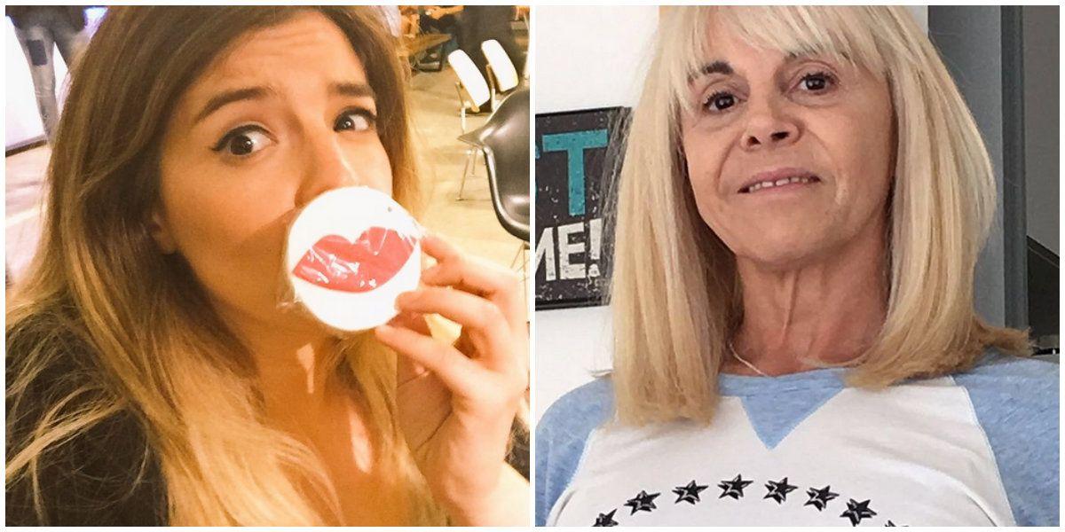Claudia Villafañe incomodó a Dalma Maradona en vivo: Basta, mamá, chau, los padres se ponen medio gomas