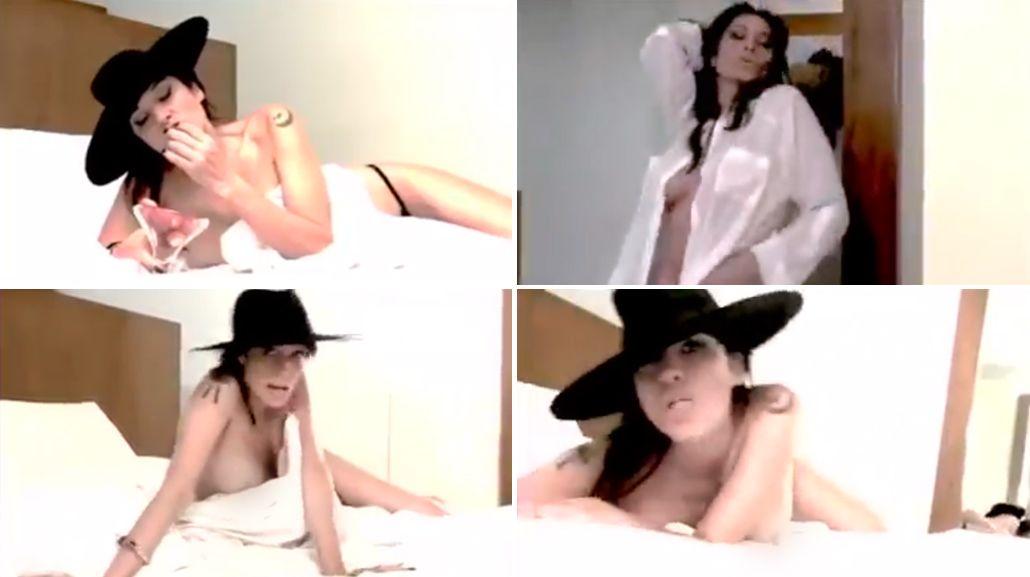 El nuevo videoclip sensual de Érica García: Amanecí desnuda en la cama