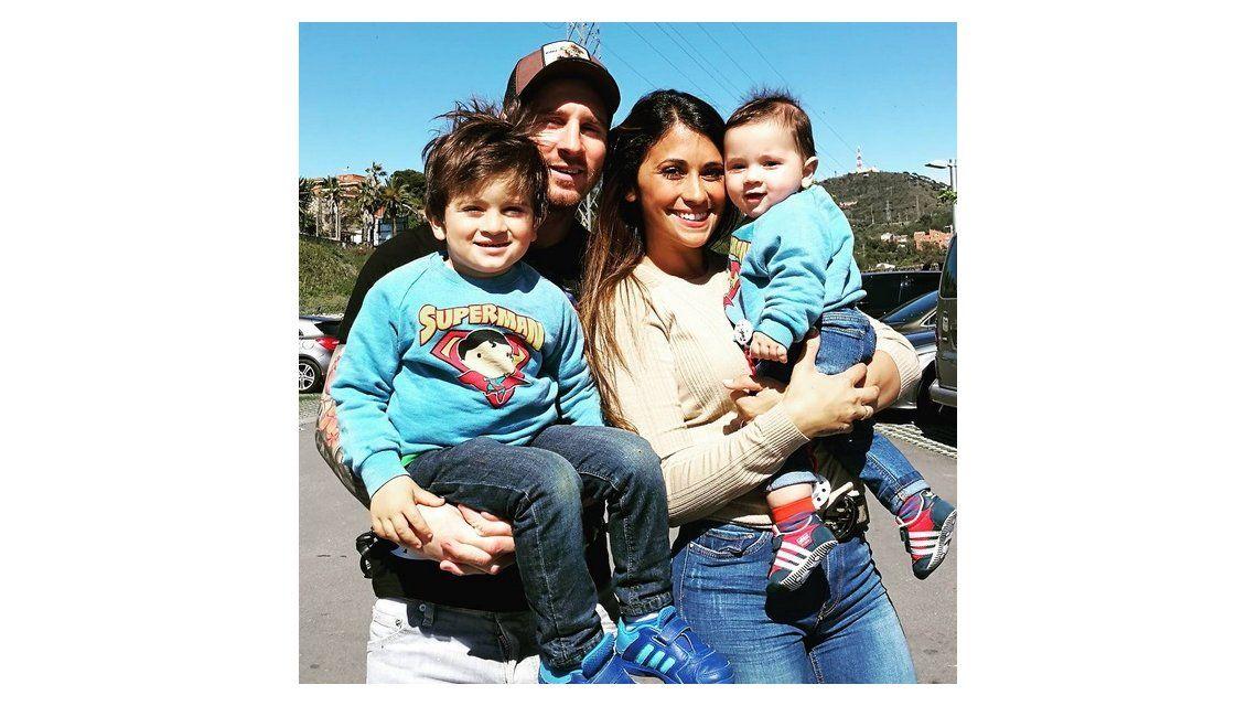 Iguales a papá: los hijos de Leo Messi, cada día más parecidos al futbolista